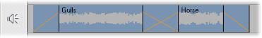 Pinnacle Studio image003 Overgangen op de audiosporen