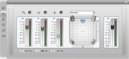 Pinnacle Studio image002 Het gereedschap Volume en balans