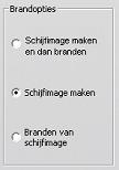 Pinnacle Studio image002 Instellingen van Schijf maken