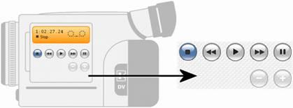 Pinnacle Studio image001 Videokamerakontrollene