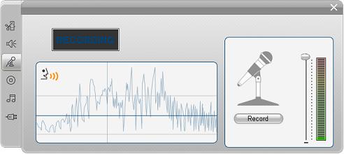 Pinnacle Studio image002 Voice over verktøyet