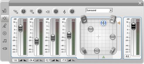 Pinnacle Studio image002 Volum  og balanse verktøyet