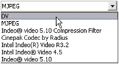 Pinnacle Studio image002 Make File settings (Lage fil innstillinger)