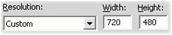 Pinnacle Studio image003 Make File settings (Lage fil innstillinger)