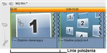 Pinnacle Studio image001 Tworzenie klipów motywu