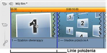 Pinnacle Studio image002 Tworzenie klipów motywu