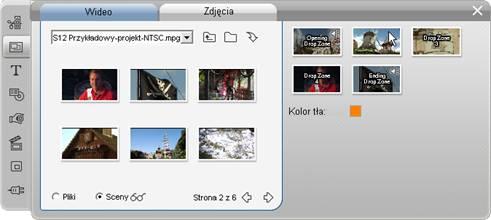 Pinnacle Studio image001 Korzystanie z narzędzia Edytor motywów