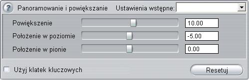 Pinnacle Studio image001 Używanie klatek kluczowych