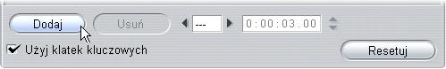 Pinnacle Studio image005 Używanie klatek kluczowych