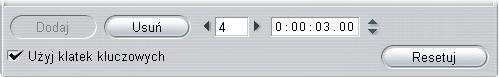 Pinnacle Studio image006 Używanie klatek kluczowych