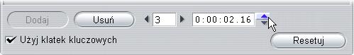 Pinnacle Studio image007 Używanie klatek kluczowych