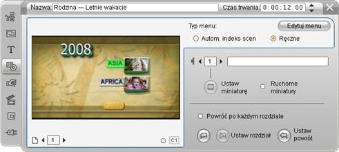 Pinnacle Studio image002 Edycja za pomocą narzędzia Właściwości klipu