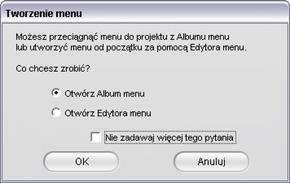 Pinnacle Studio image002 Narzędzie Menu dysku