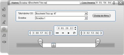 Pinnacle Studio image002 Narzędzie Audio z CD