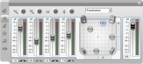 Pinnacle Studio image002 Narzędzie Głośność i balans