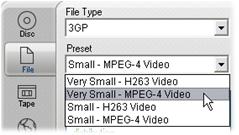 Pinnacle Studio image003 Wyprowadzanie do pliku