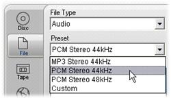 Pinnacle Studio image004 Wyprowadzanie do pliku