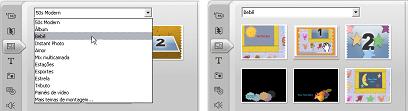 Pinnacle Studio image001 Utilização de temas