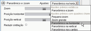 Pinnacle Studio image003 Alteração de parâmetros dos efeitos