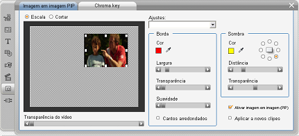 Pinnacle Studio image003 A ferramenta imagem em imagem (PIP)