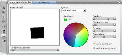 Pinnacle Studio image003 A ferramenta chroma key