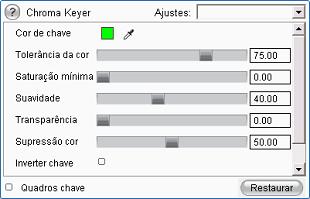 Pinnacle Studio image005 A ferramenta chroma key