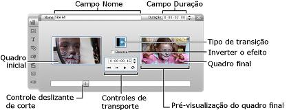 Pinnacle Studio image003 Corte com a ferramenta Propriedades do clipe