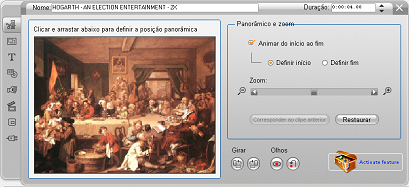 Pinnacle Studio image002 Edição das propriedades do clipe da imagem