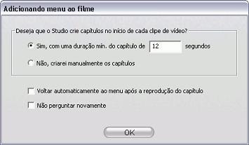 Pinnacle Studio image002 Utilização de menus do Álbum
