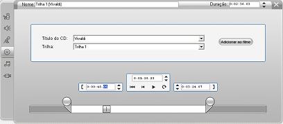 Pinnacle Studio image002 A ferramenta Áudio de CD