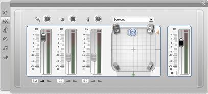 Pinnacle Studio image002 A ferramenta Volume e balanço
