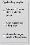Pinnacle Studio image002 Configurações em Criar disco