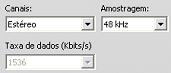 Pinnacle Studio image006 Configurações em Criar arquivo