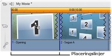 Pinnacle Studio image002 Skapa temaklipp