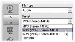 Pinnacle Studio image001 Ljudeffekter och musik