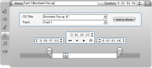Pinnacle Studio image002 Cd ljud verktyget