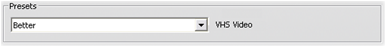 Pinnacle Studio image002 Konfigurationer för importformat (Capture format)
