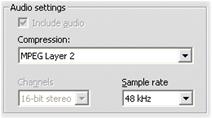 Pinnacle Studio image003 Konfigurationer för importformat (Capture format)