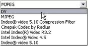 Pinnacle Studio image002 Konfigurationer för Skapa fil