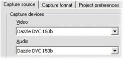 """Pinnacle Studio image002 Felmeddelandet """"Videoenhet kan inte hittas"""" kommer upp i Import läget"""