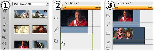 Pinnacle Studio image001 介紹重疊式字幕軌
