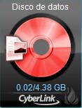 Power2Go dataga28 Accesorio de grabación de escritorio Power2Go