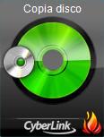 Power2Go copydi54 Gadget masterizzazione desktop Power2Go