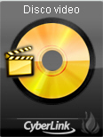 Power2Go videog51 Gadget masterizzazione desktop Power2Go