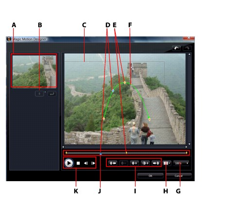 PowerDirector mmotio71 Magic Motion