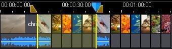 PowerDirector ranges37 Timeline View