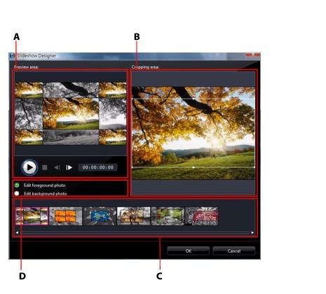 PowerDirector slides38 Slideshow Designer