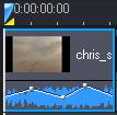 PowerDirector mute c70 媒体片段静音