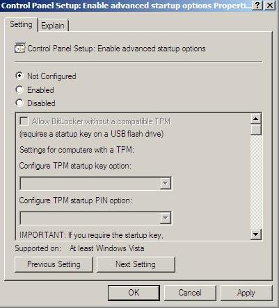 Proliant Maintenance CD 109796 Trusted Platform Module
