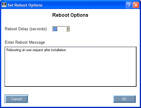 Proliant Maintenance CD 68266 Reboot section